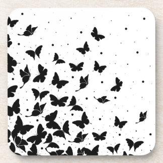 Porta-copos Teste padrão de borboleta