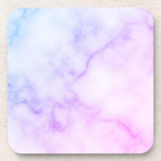 Porta Copos Teste padrão de mármore do arco-íris