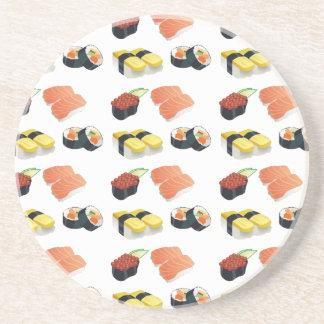 Porta-copos Teste padrão do sushi