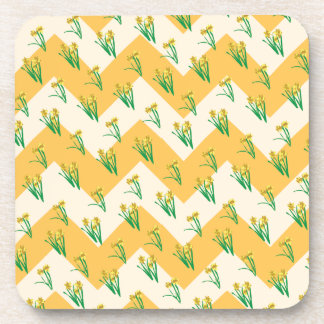 Porta Copos Teste padrão dos Daffodils