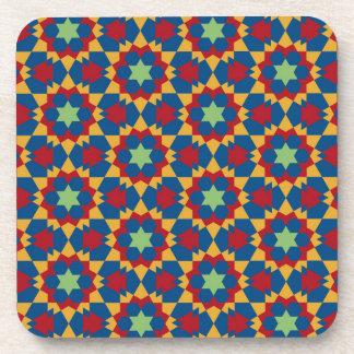 Porta Copos teste padrão geométrico islâmico