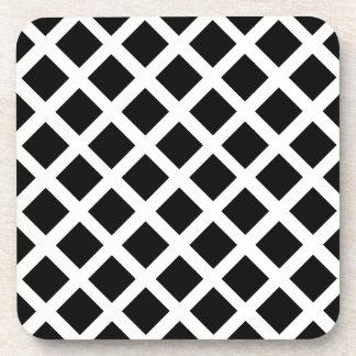 Porta Copos Teste padrão preto e branco da ilusão óptica da