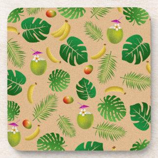 Porta-copos Teste padrão tropical