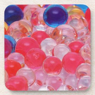 Porta Copos textura das bolas da água