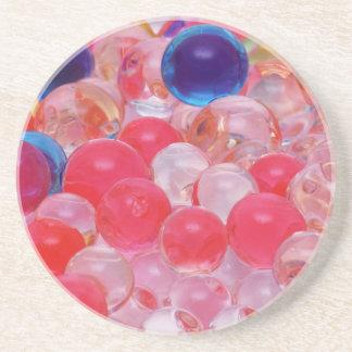 Porta-copos textura das bolas da água