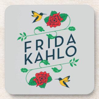 Porta Copos Tipografia floral de Frida Kahlo |