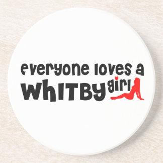 Porta-copos Todos ama uma menina de Whitby