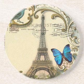 Porta-copos torre Eiffel gatsby de Paris do vintage dos