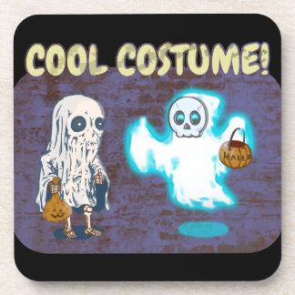 Porta-copos Traje do fantasma e do esqueleto