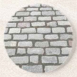 Porta-copos Trajeto de pedra do passeio do caminho do jardim