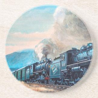 Porta-copos Trem locomotivo