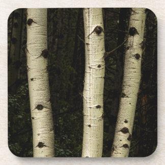 Porta-copos Três colunas da floresta