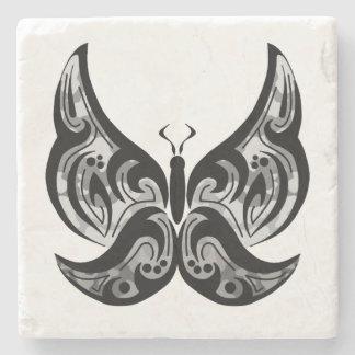 Porta copos tribal da borboleta porta-copos de pedra