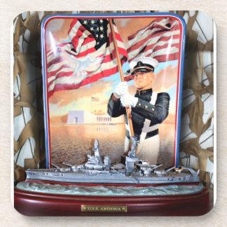 Porta-copos Tributo da arizona de USS