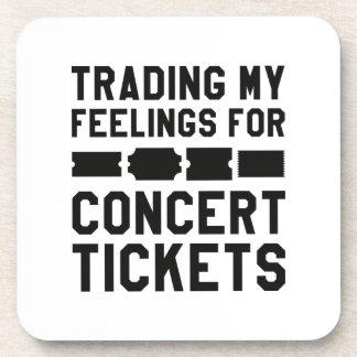 Porta Copos Trocando meus sentimentos para bilhetes do