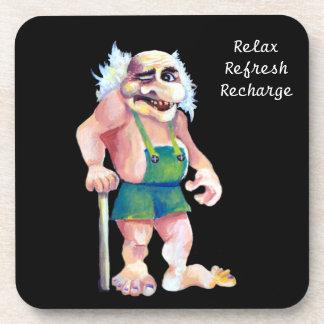 Porta Copos Troll engraçado escandinavo do ogre - relaxe o