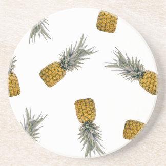 Porta copos tropical do impressão do abacaxi