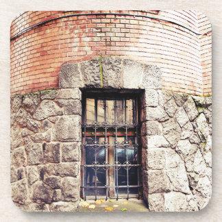 Porta-copos Uma janela