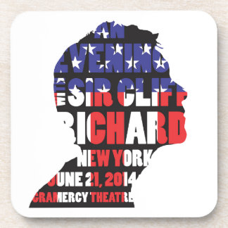 Porta-copos Uma noite com senhor Cliff Richard