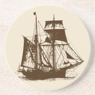 Porta-copos Uma vida shipcoaster_1 dos piratas