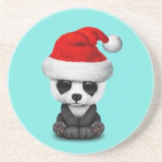 Porta-copos Urso de panda do bebê que veste um chapéu do papai