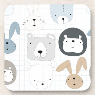 Porta-copos Urso, leão e coelho de ursinho animal bonito dos