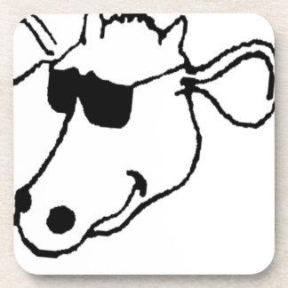 Porta Copos Vaca de fumo com óculos de sol