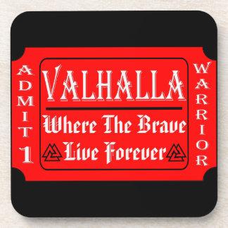Porta Copos Valhalla admite 1 guerreiro onde o bravo pode