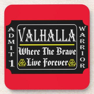 Porta-copos Valhalla admite 1 guerreiro onde o bravo pode