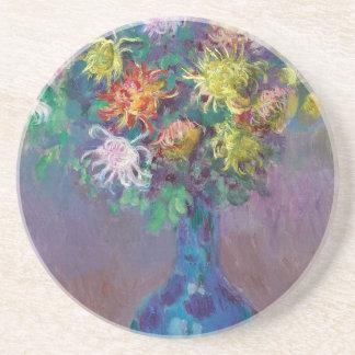 Porta-copos Vaso dos crisântemos Claude Monet
