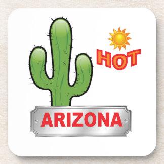 Porta-copos Vermelho quente da arizona