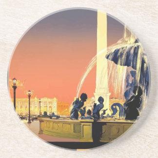 Porta-copos Viagens vintage Paris France