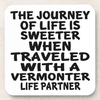 Porta Copos Viajado com um sócio da vida do Vermonter