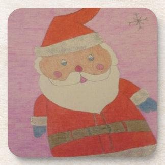 Porta-copos Vintage Papai Noel