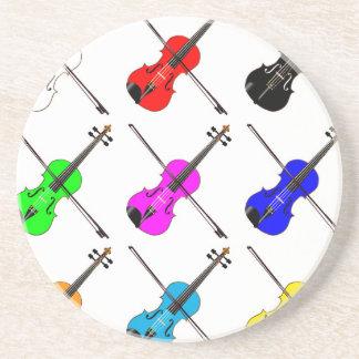 Porta-copos Violinos