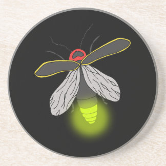 Porta-copos vôo do inseto de relâmpago iluminado