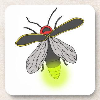 Porta Copos vôo do inseto de relâmpago iluminado