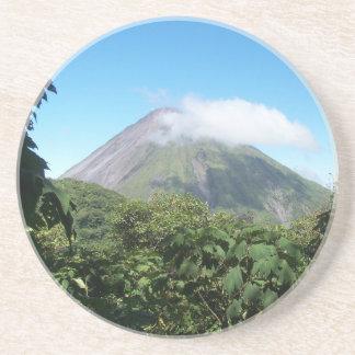 Porta-copos vulcão de arenal