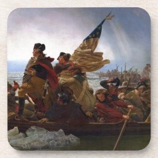 Porta-copos Washington que cruza arte do vintage do Delaware -