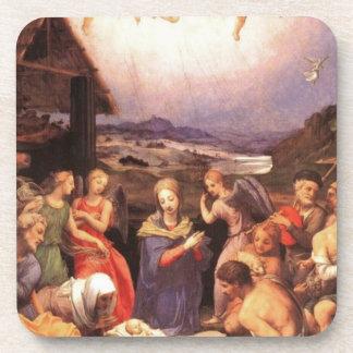 Porta-copos Worship_of_the_shepherds_by_bronzino