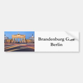 Porta de Brandemburgo em Berlim Adesivo De Para-choque