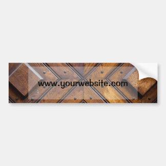 Porta de madeira velha adesivos
