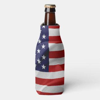 Porta-garrafa A bandeira dos Estados Unidos da América