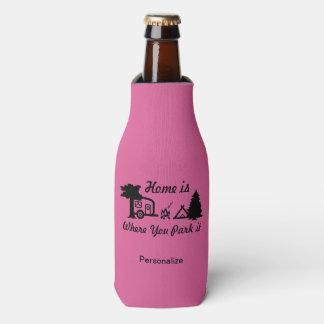 Porta-garrafa A casa é o lugar onde você a estaciona | que