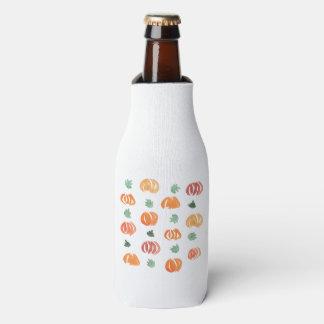 Porta-garrafa Abóboras com o refrigerador da garrafa das folhas