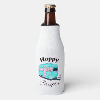 Porta-garrafa Acampamento do reboque de campista feliz