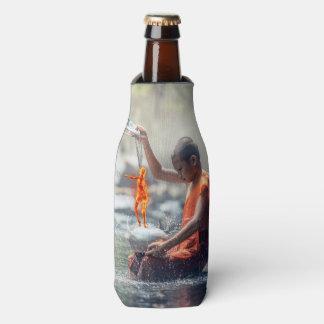 Porta-garrafa Água e fogo