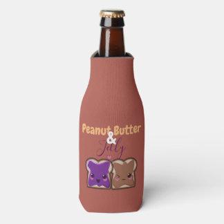 Porta-garrafa Amigos da manteiga e da geléia de amendoim de