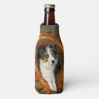 Porta-garrafa Animal de estimação azul da fotografia da cabeça