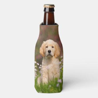 Porta-garrafa Animal de estimação bonito da foto da cara do